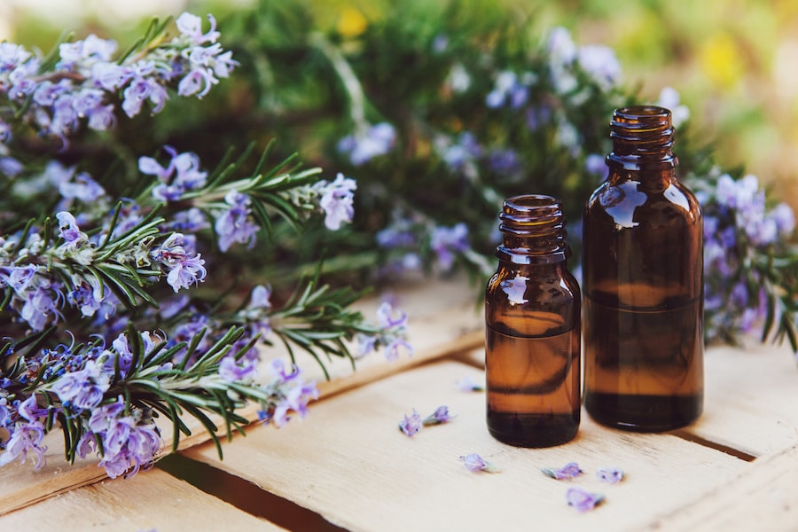 Homeopathy remedy bottles